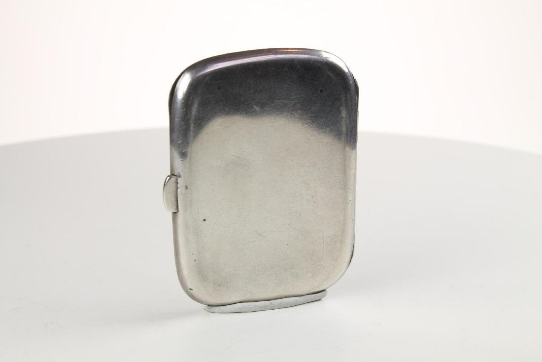 Silver and Enamel Hunting Cigarette case - 10