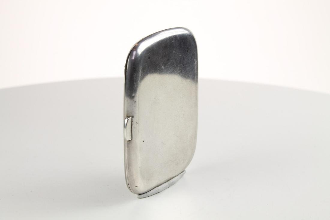 Silver and Enamel Hunting Cigarette case - 8
