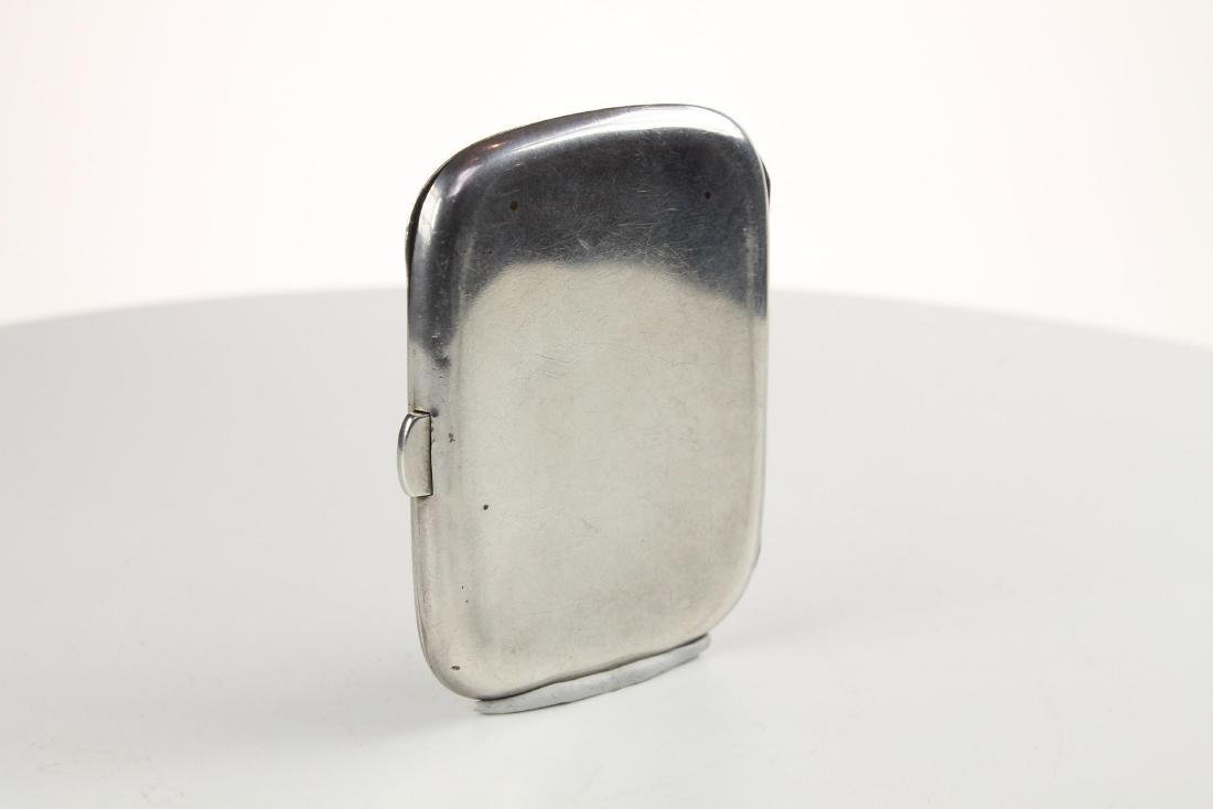 Silver and Enamel Hunting Cigarette case - 9