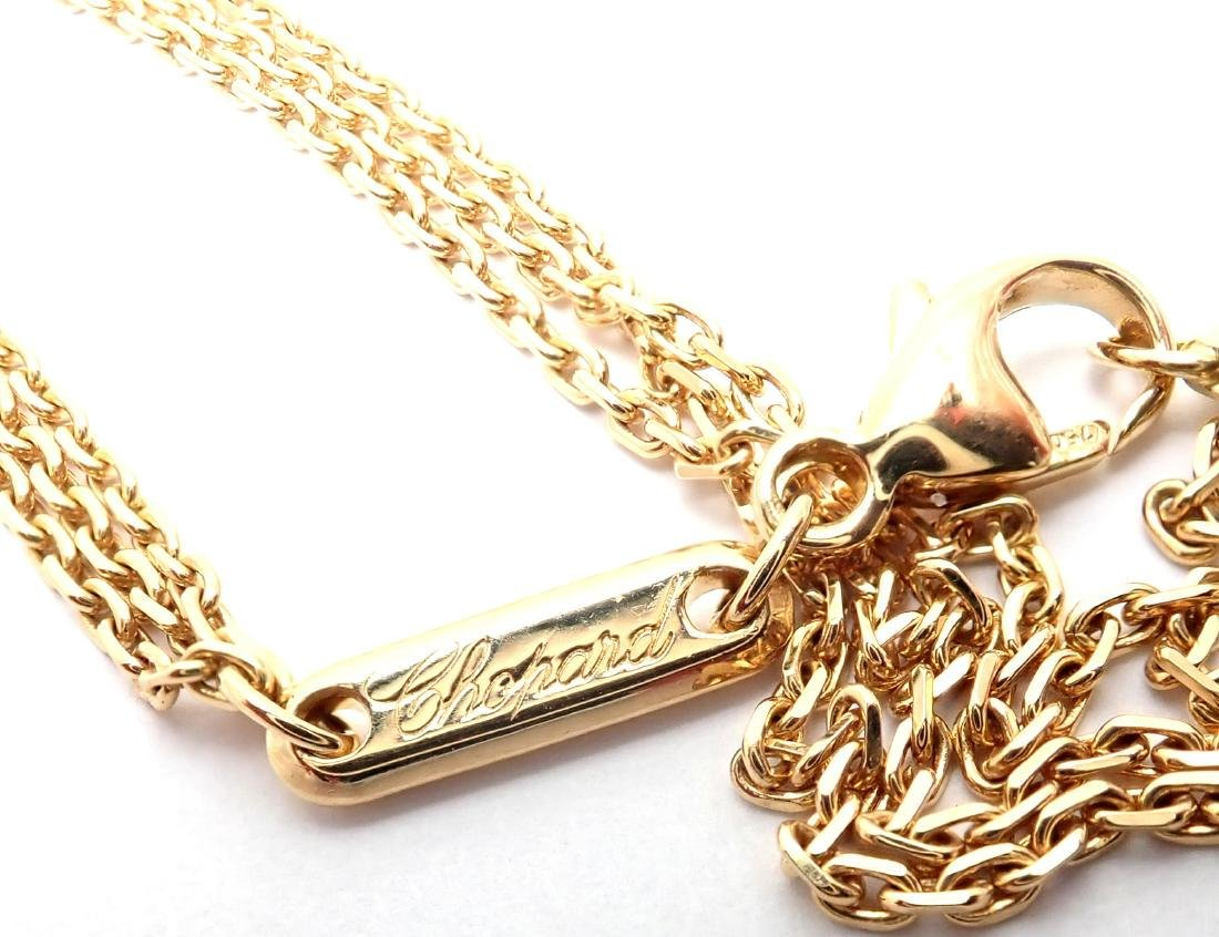 Chopard Cross Extra Large Yellow Gold Pendant Necklace - 9