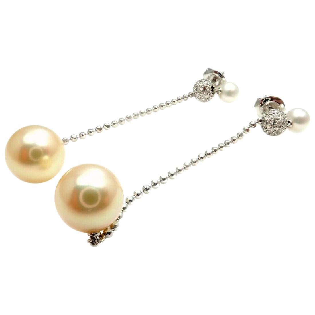 27a97f6e0e9b8 Mikimoto Golden South Sea Pearl Diamond White Gold - Mar 30, 2019 ...