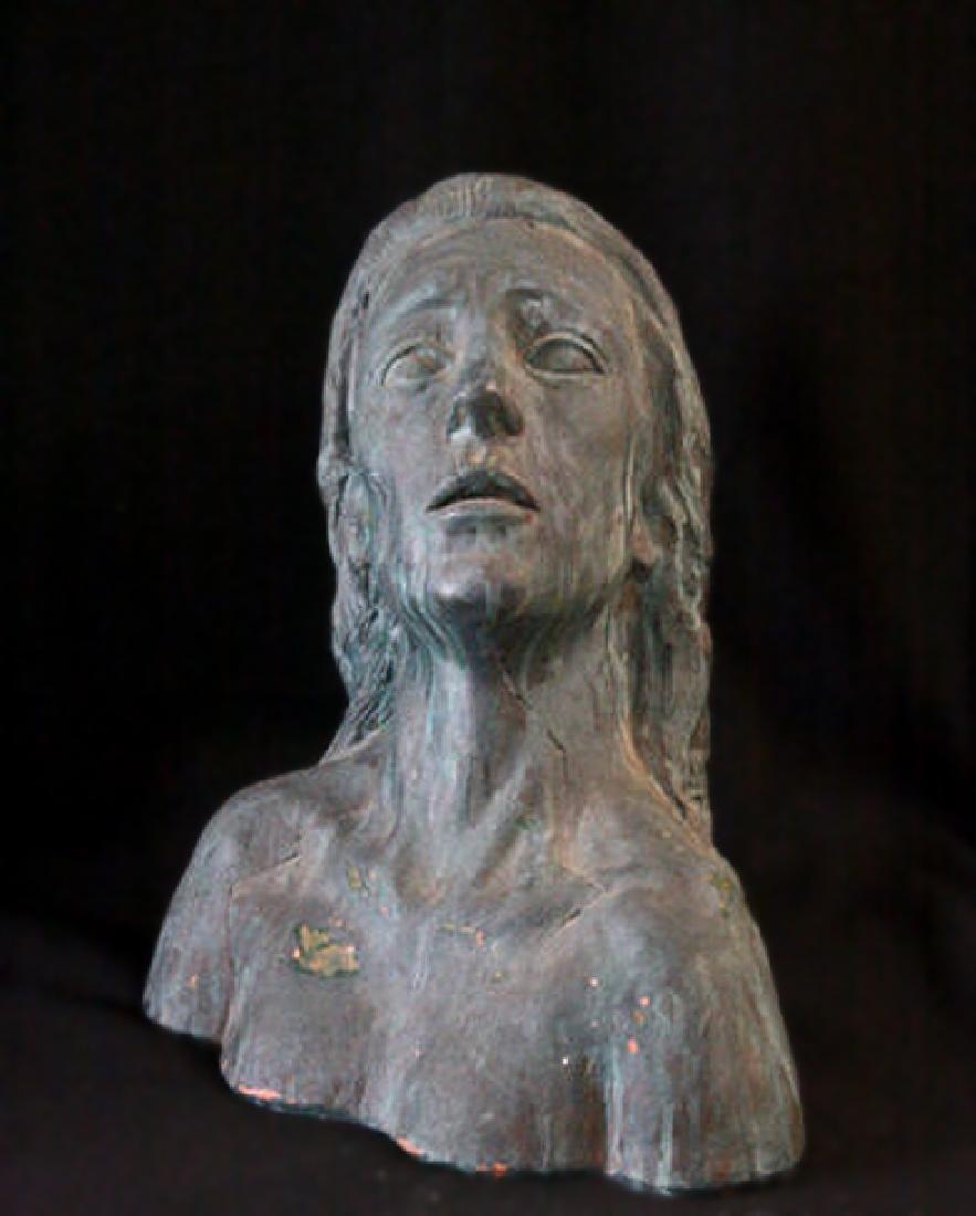 Woman by W. Yerke (Terracotta Bust)