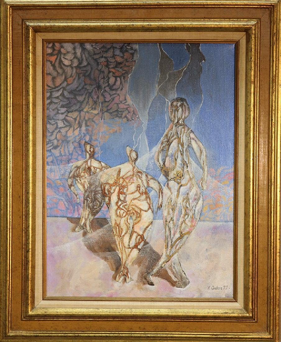 Interstellar by R. Carlson (Oil Painting)