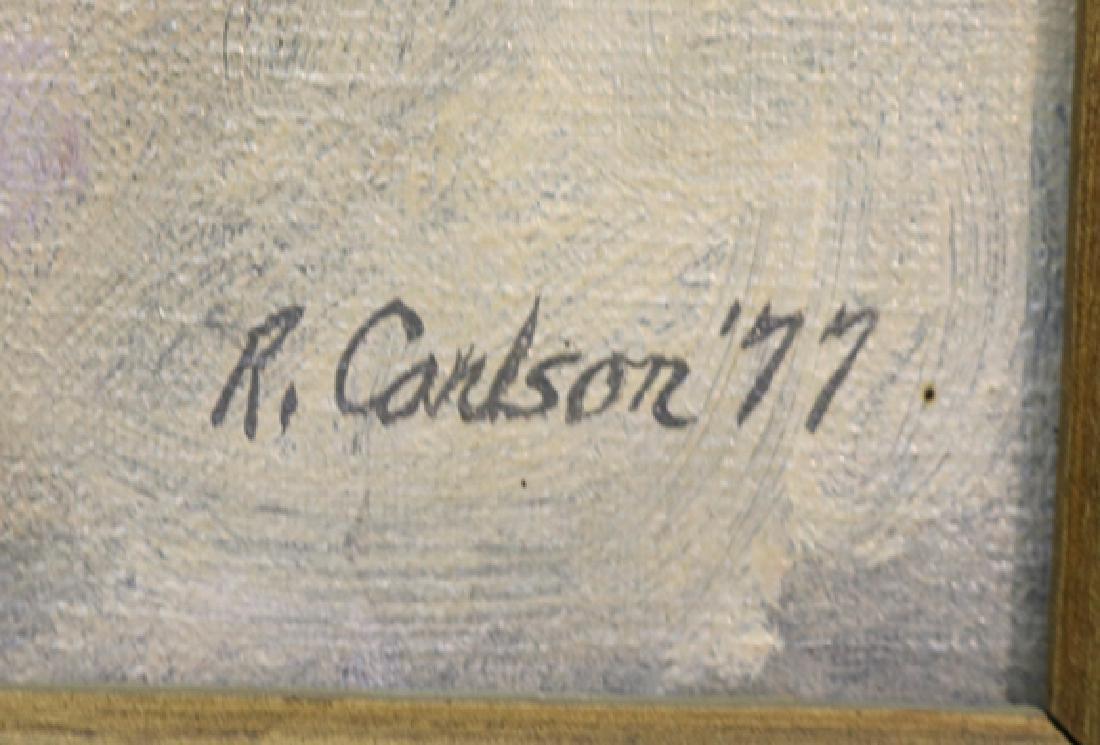 Interstellar by R. Carlson (Oil Painting) - 2