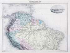 Migeon: Northern South America with Curacao Inset