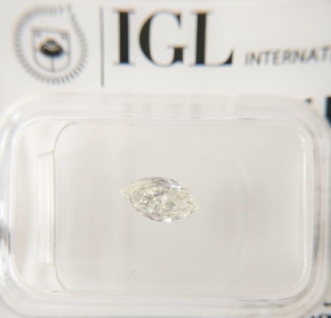 0.38 ct Marquise cut diamond G VS1