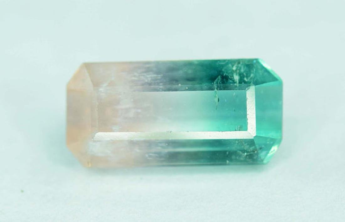 1.65 cts Natural Bi Color Tourmaline Gemstone from