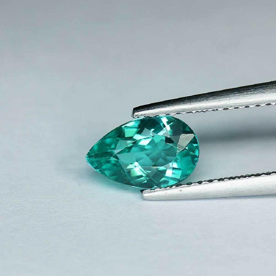 1.35 ct paraiba blue apatite