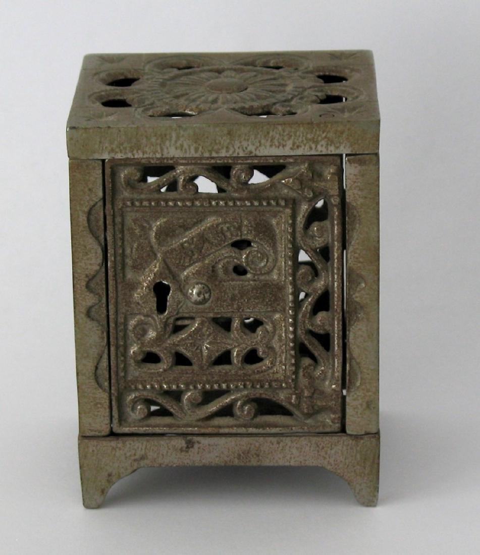Early Cast Iron Safe Bank.