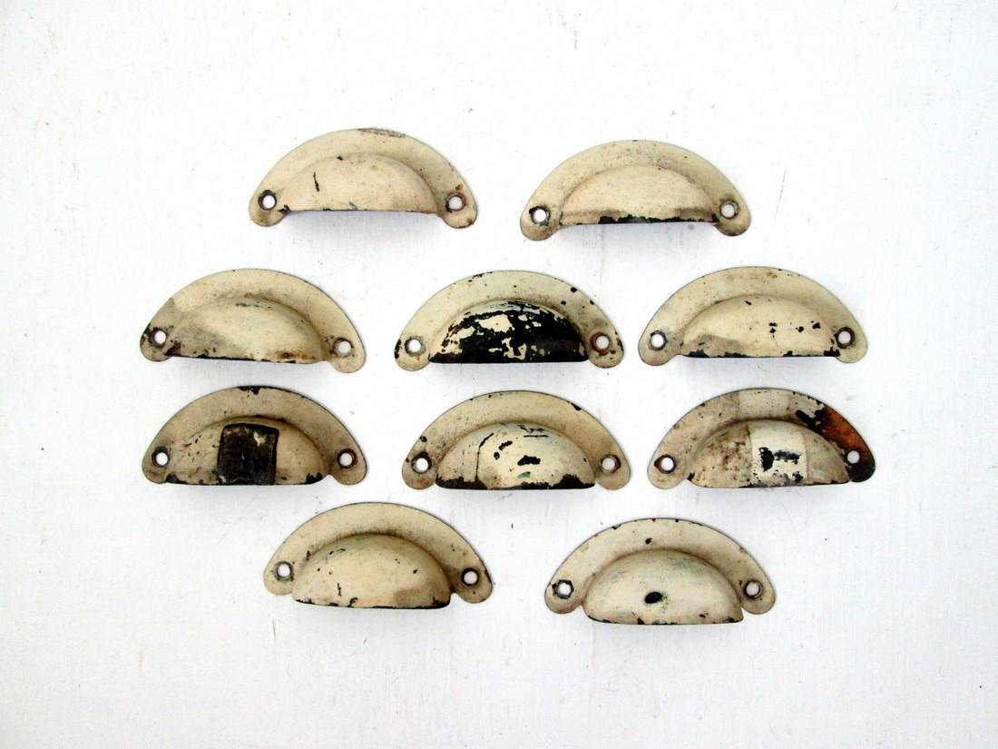 Set 10 Early Drawer Pulls