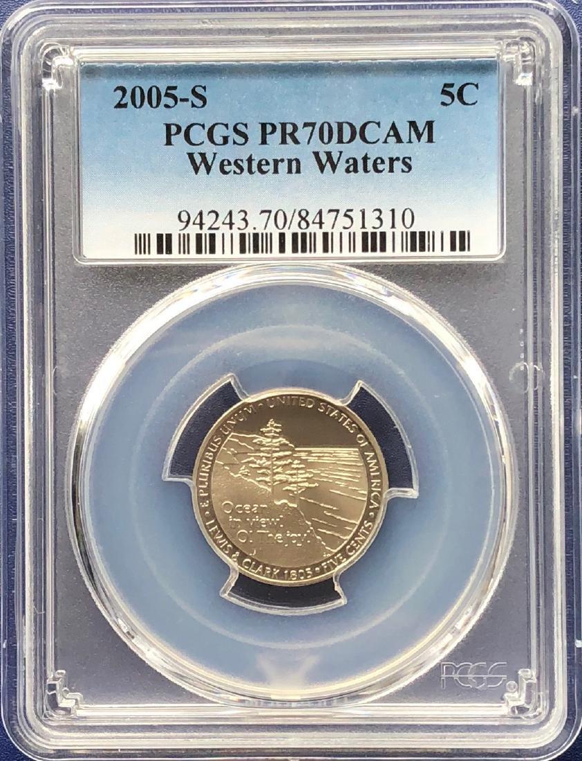 2005-S Western Waters Nickel PR70DCAM