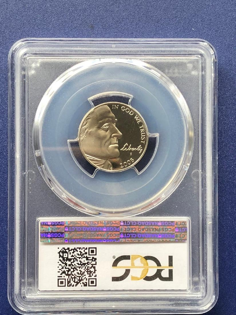 2005-S Western Waters Nickel PR70DCAM - 2