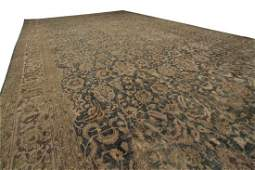 12'x19' Fine Antique Rug Persian Haji Jalili Tabriz