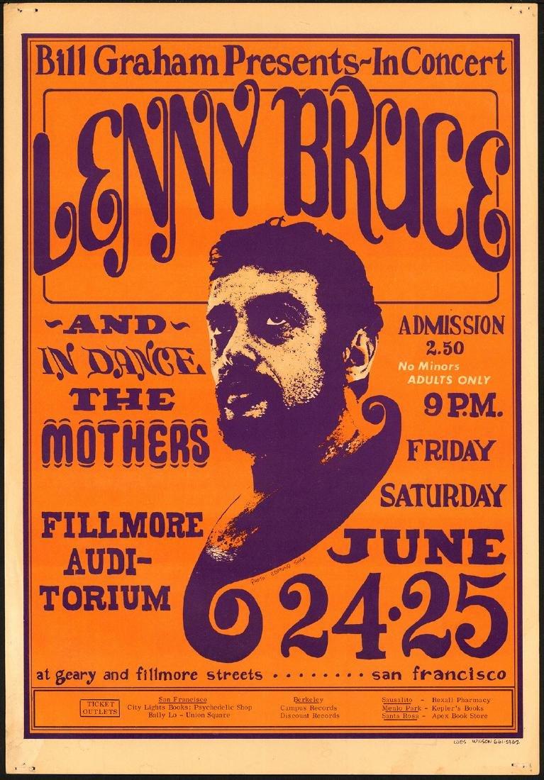 Popular BG-13 Lenny Bruce Poster
