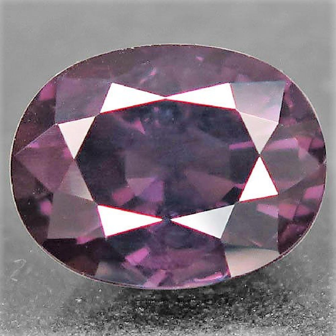 4,13 ct Purple Spinel