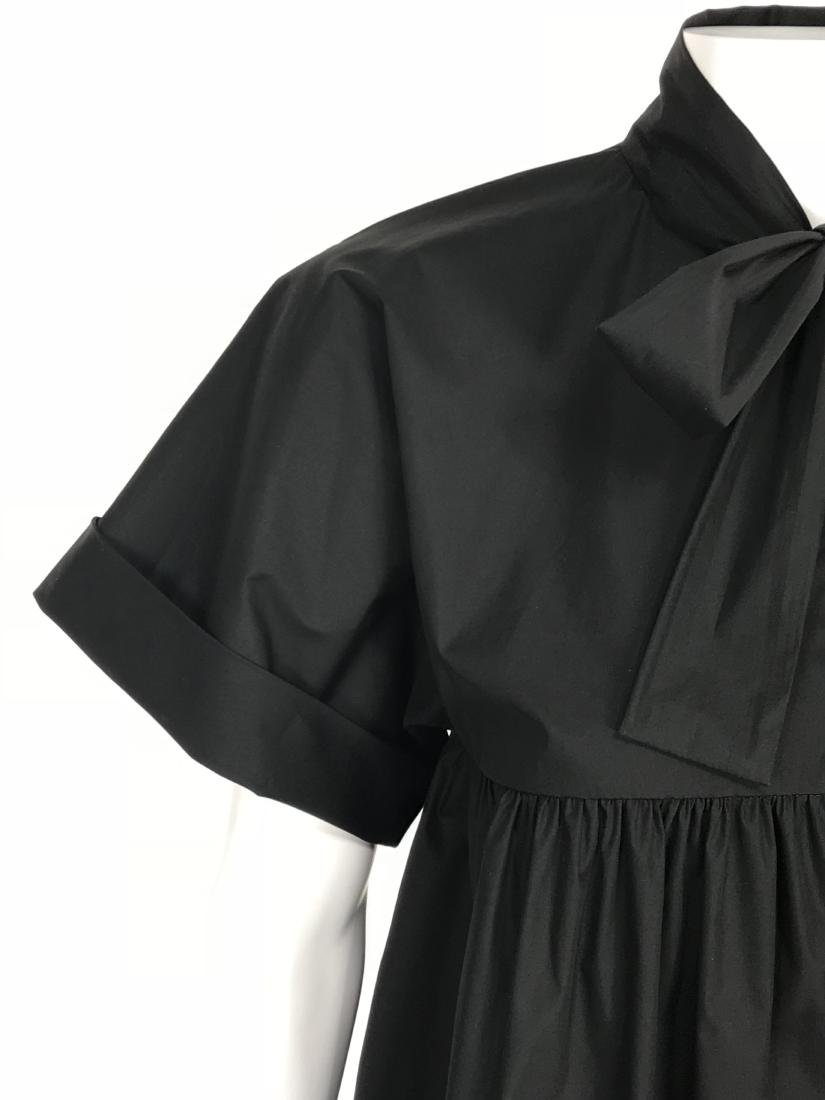 BRIONI Black Artist's Smock Style Blouse RETAIL $1116 - 3