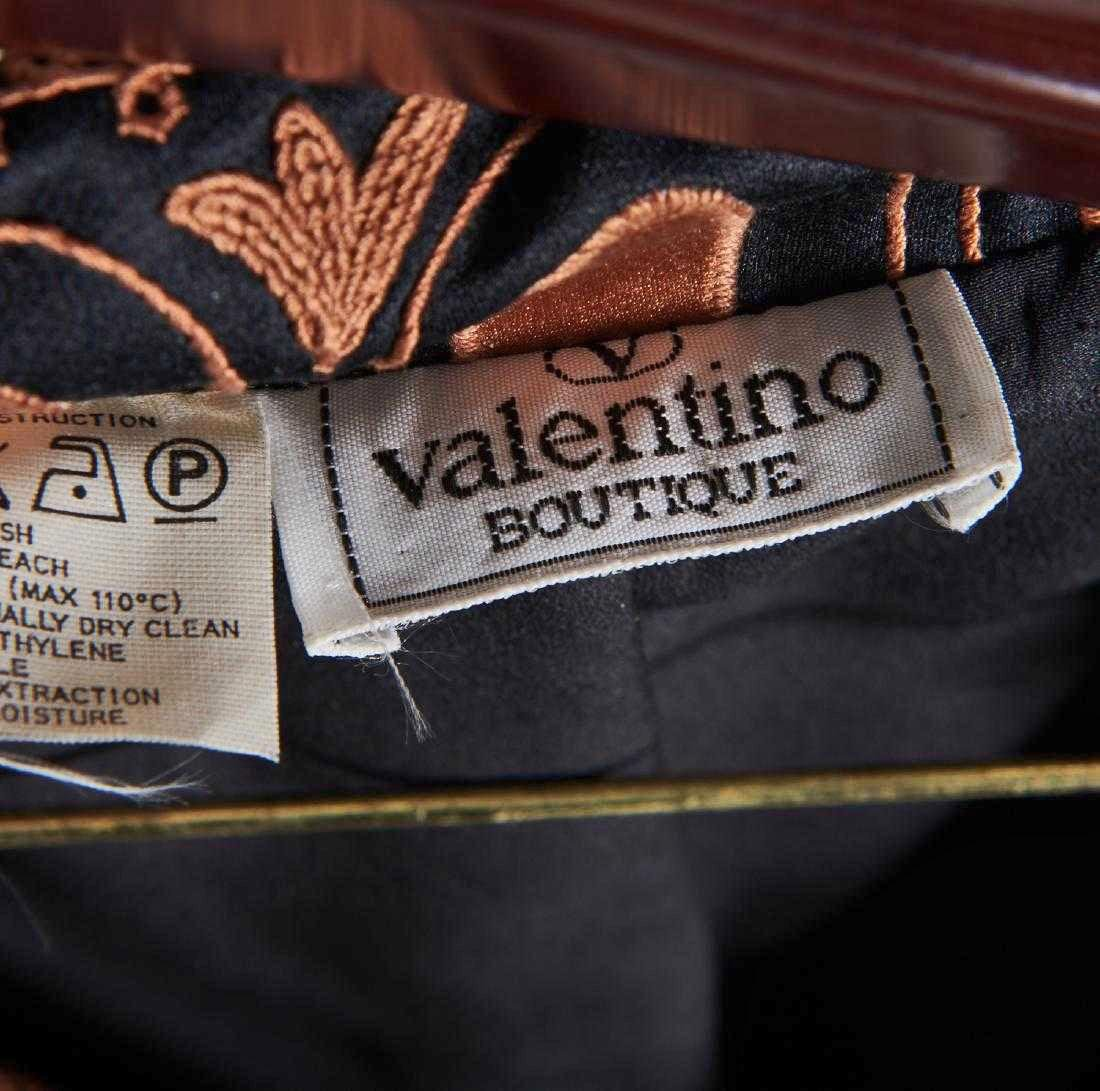 VALENTINO Stunning Black Wool Skirt Suit - 5