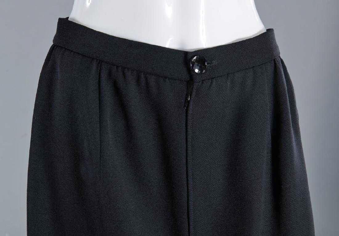 VALENTINO Stunning Black Wool Skirt Suit - 6