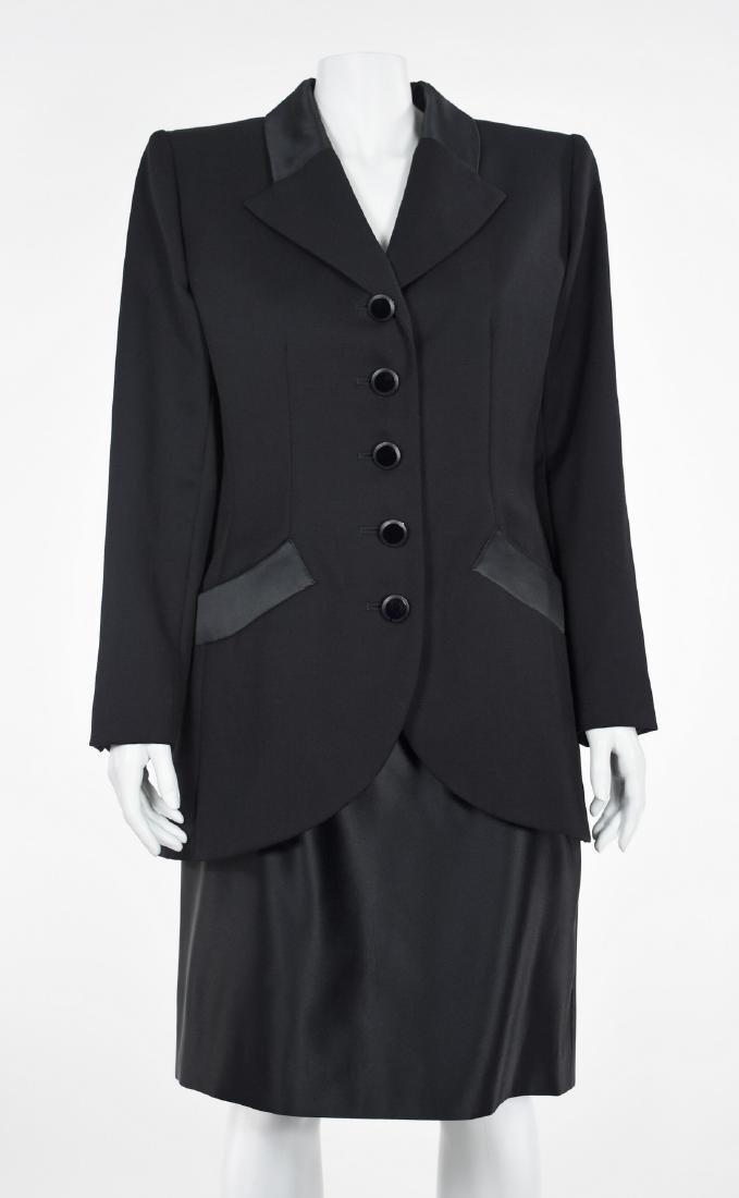 YVES SAINT LAURENT Le Smoking Tuxedo Skirt Suit