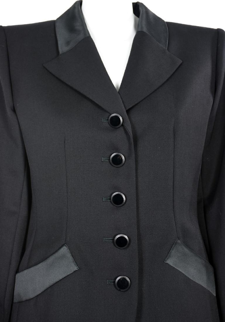 YVES SAINT LAURENT Le Smoking Tuxedo Skirt Suit - 2
