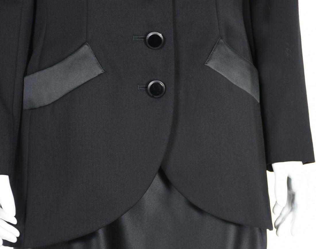YVES SAINT LAURENT Le Smoking Tuxedo Skirt Suit - 3