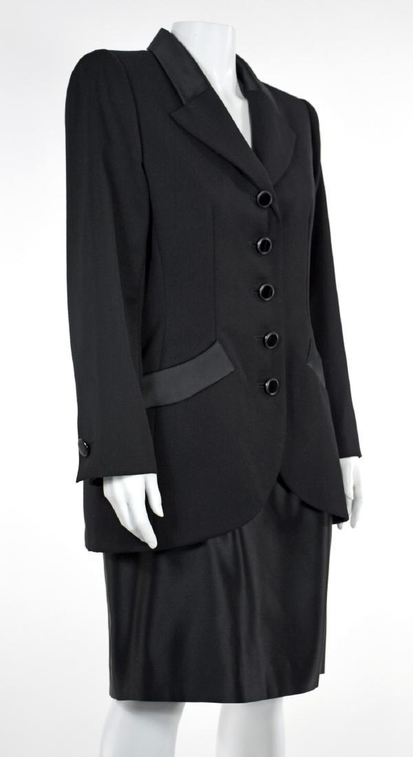 YVES SAINT LAURENT Le Smoking Tuxedo Skirt Suit - 4