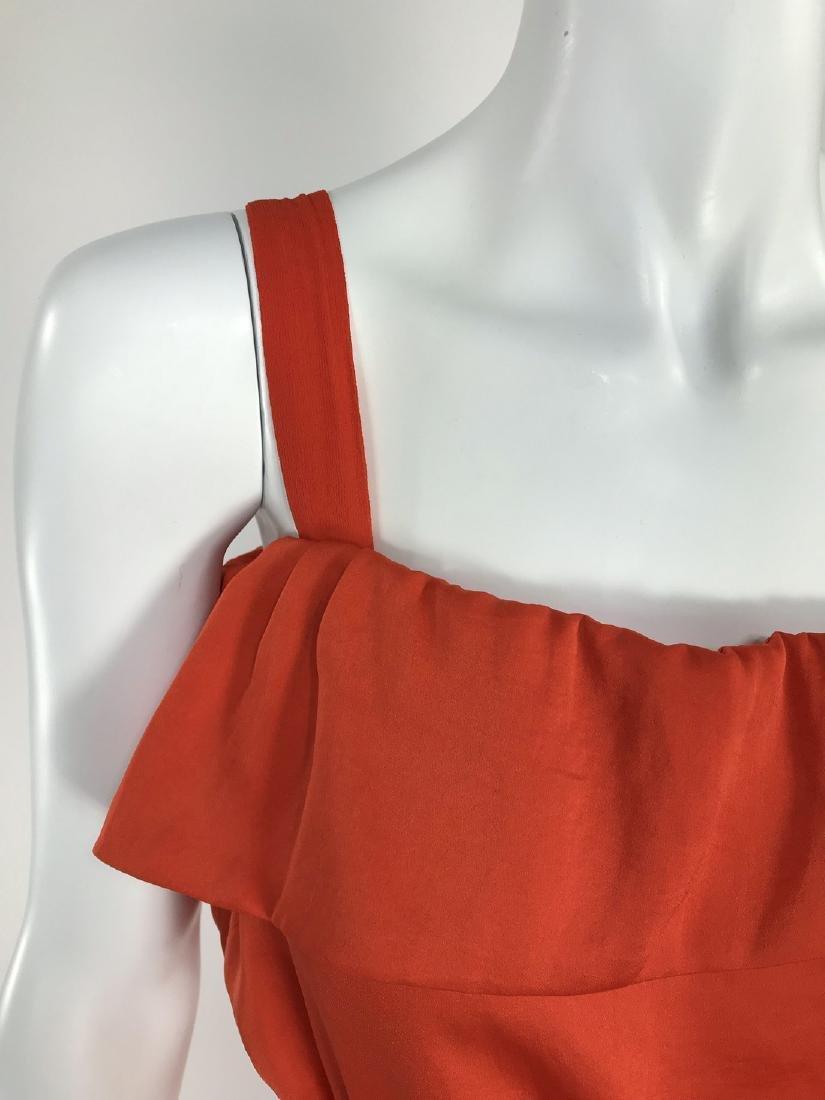 By Malene Birger Red Silk Maxi Dress - 2