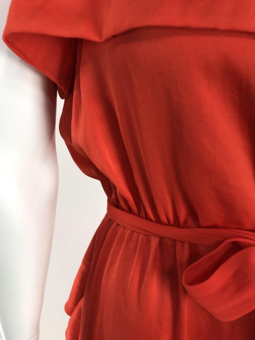 By Malene Birger Red Silk Maxi Dress - 3