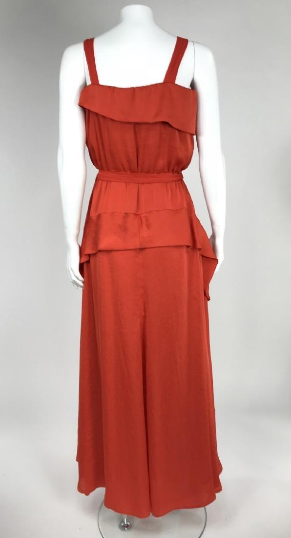 By Malene Birger Red Silk Maxi Dress - 7
