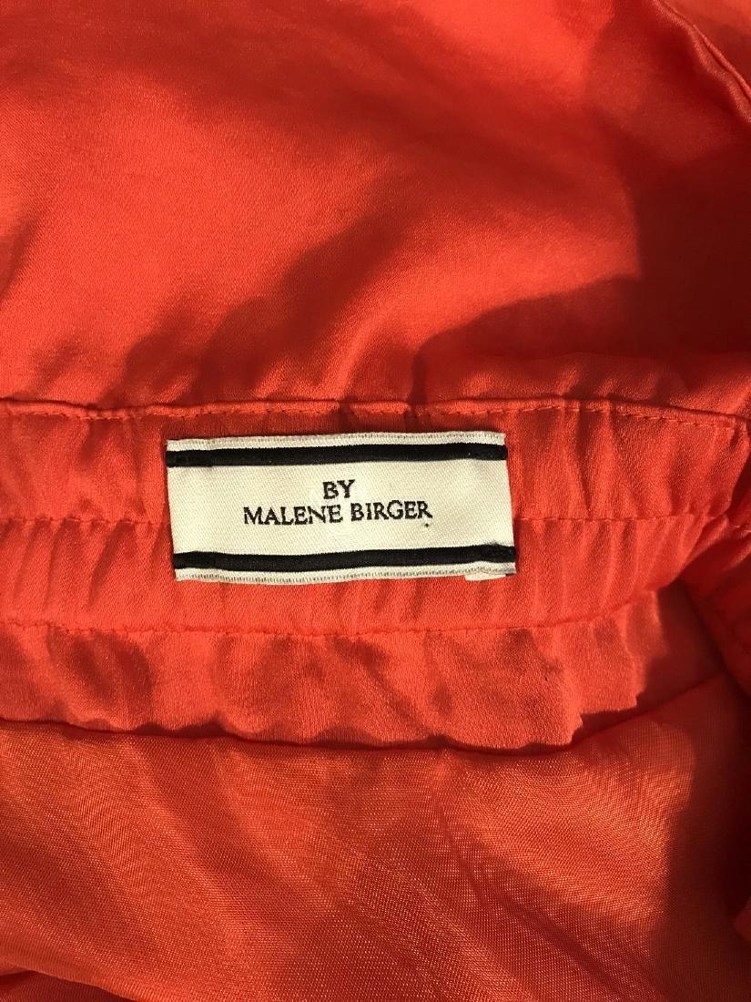 By Malene Birger Red Silk Maxi Dress - 9
