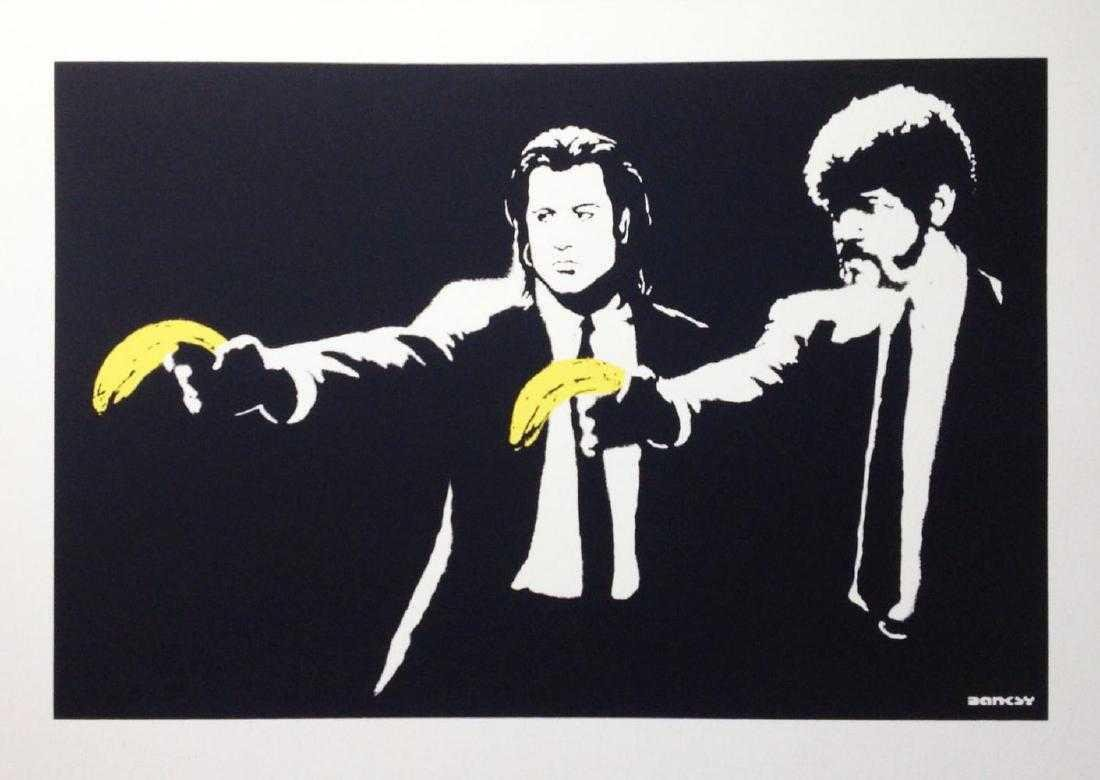 Pulp Fiction - after Banksy