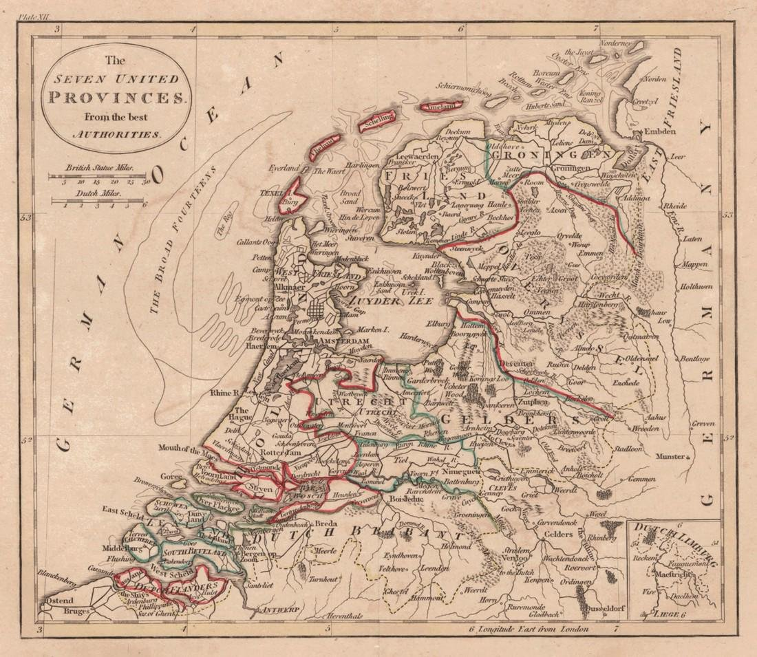 [Holland] The Seven United Provinces. From the best