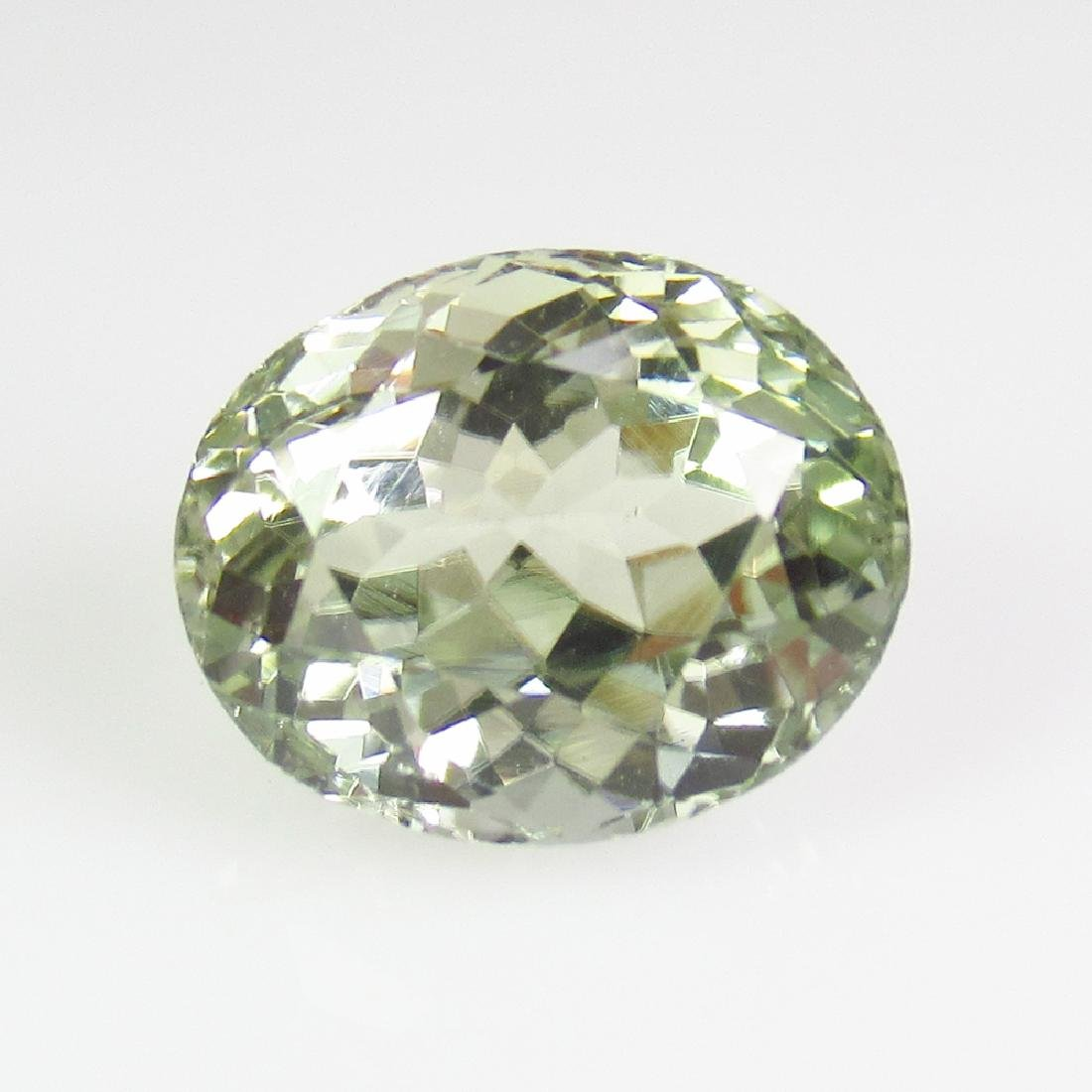 4.29 Ct Genuine Lime Green Sillimanite 11X9 mm Oval Cut