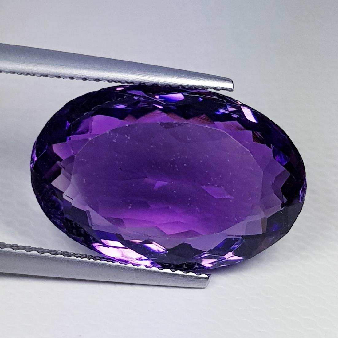 Natural Amethyst Oval Cut 10.95 ct