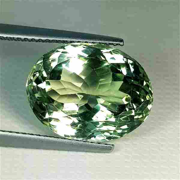 Natural Green Amethyst Oval Cut 11.80 ct