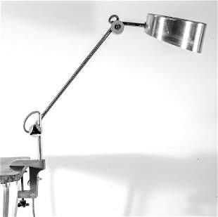 FRENCH MODERNIST DESK CLAMP LAMP JUMO PERRIAND ADNET