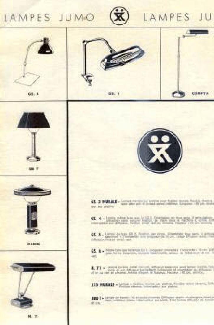 FRENCH MODERNIST JUMO DESK LAMP EILEEN GRAY - 5