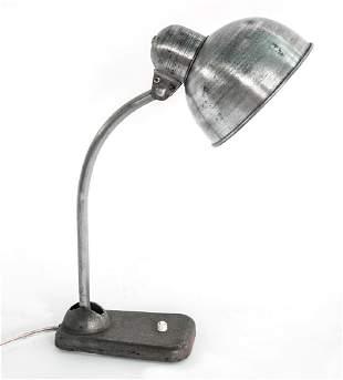 ART DECO BAUHAUS INDUSTRIAL DESK LAMP CHRISTIAN DELL