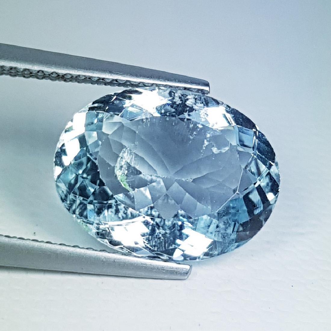 6.00 ct Natural Aquamarine