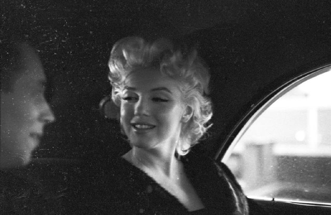 Marilyn With Dick Shepherd