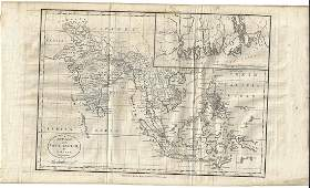 1782 New Map of the East Indies