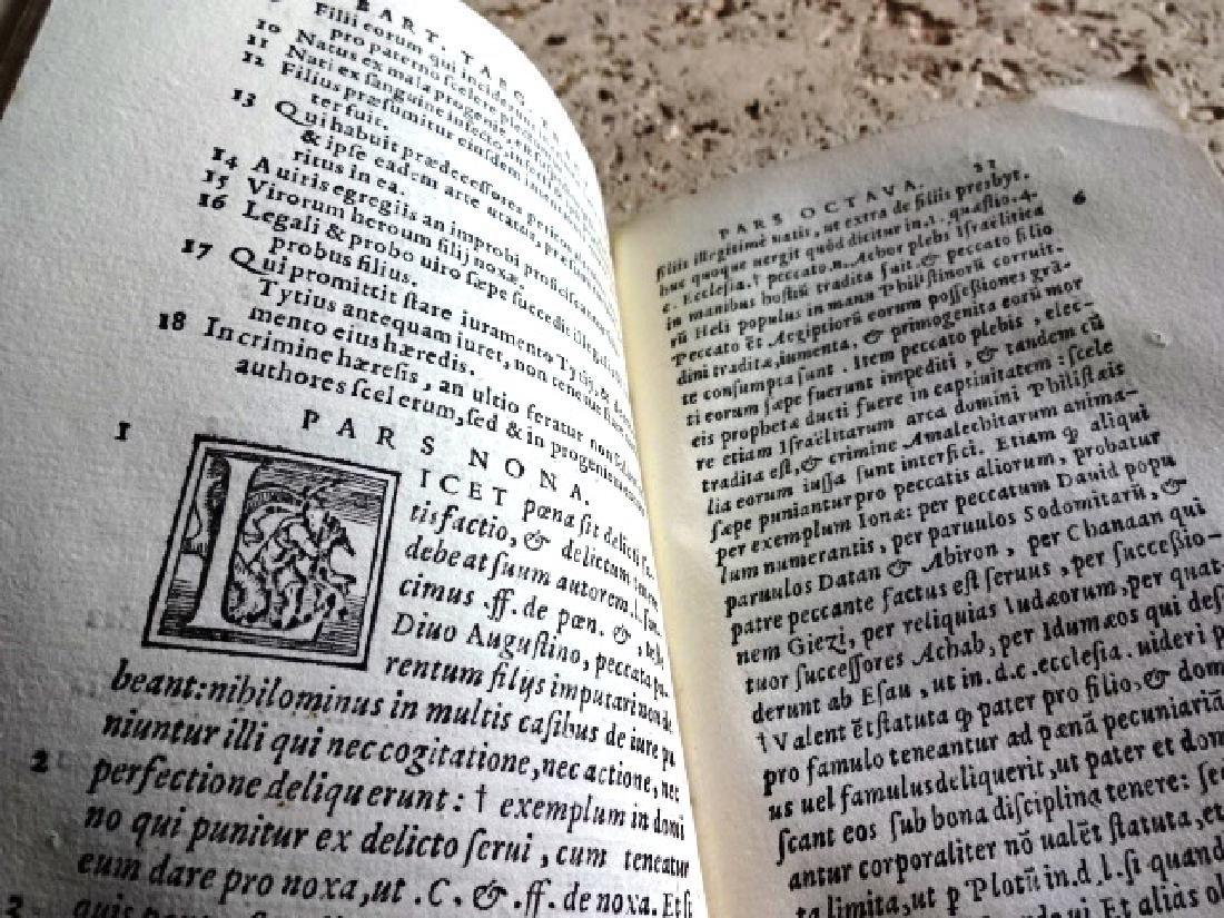 1564 Milan Imprint Vellum Binding Law - 2