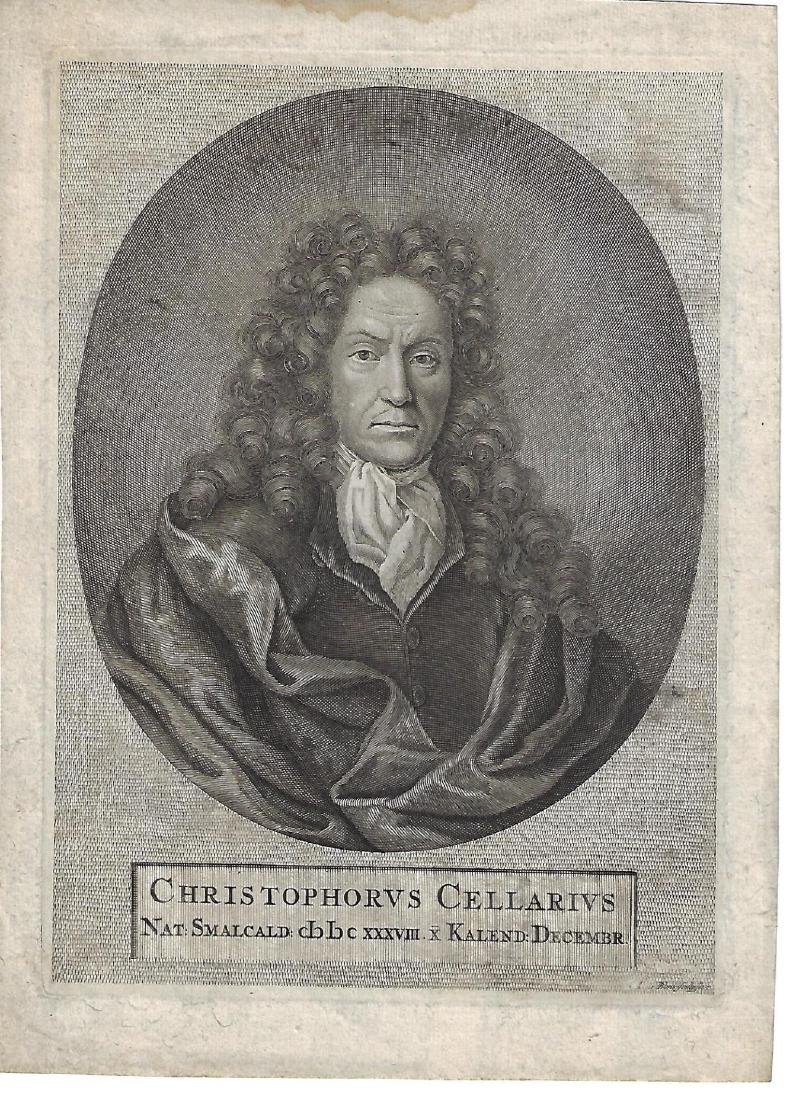 18th C Engraving Christoph Cellarius