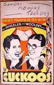 THE CUCKOOS – ORIGINAL 1930 WINDOW CARD POSTER –