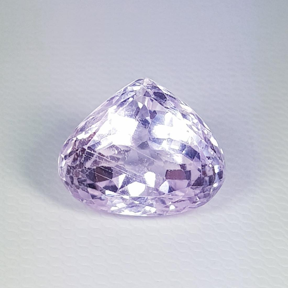 Natural Pink Kunzite Pear Cut 8.30 ct
