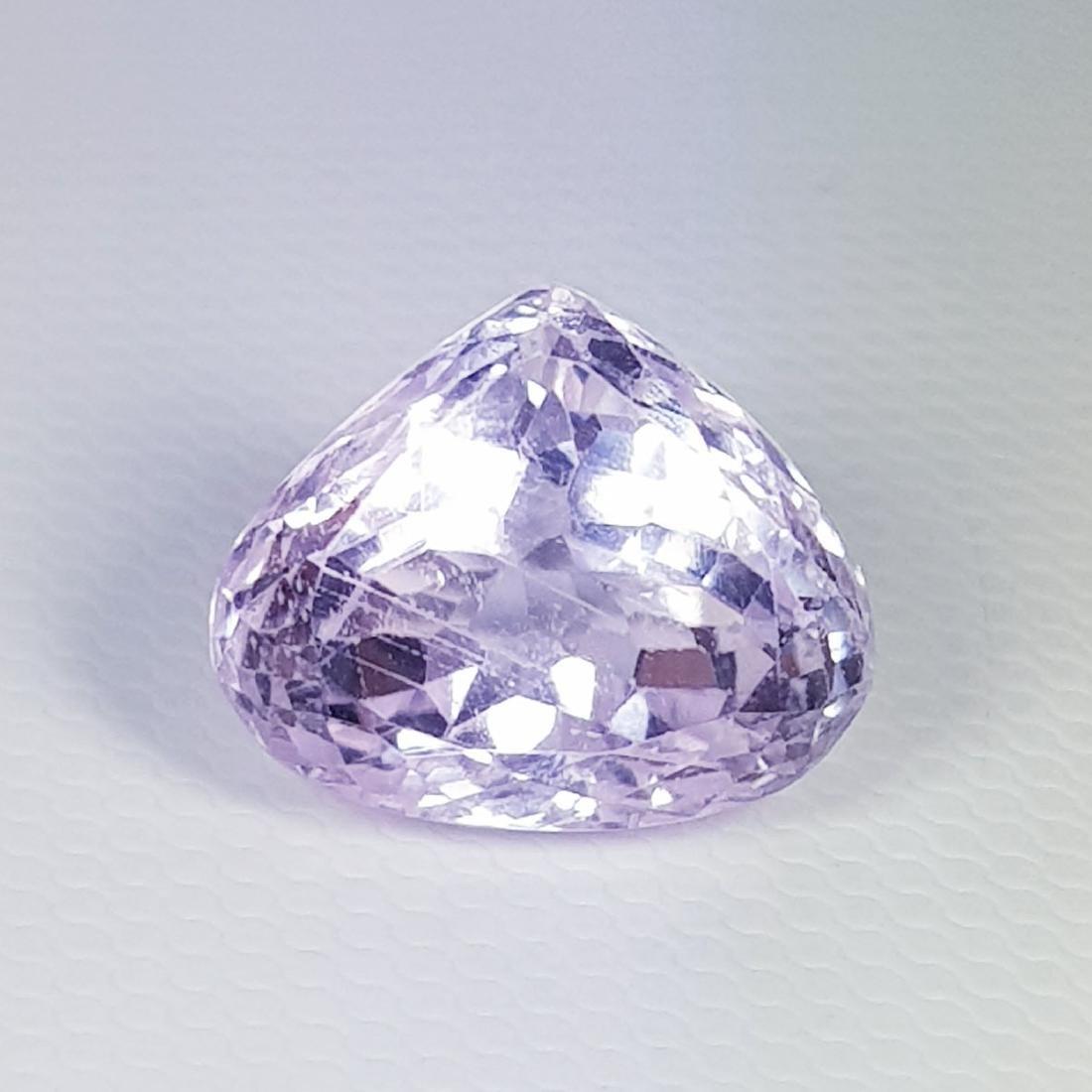 Natural Pink Kunzite Pear Cut 8.30 ct - 2