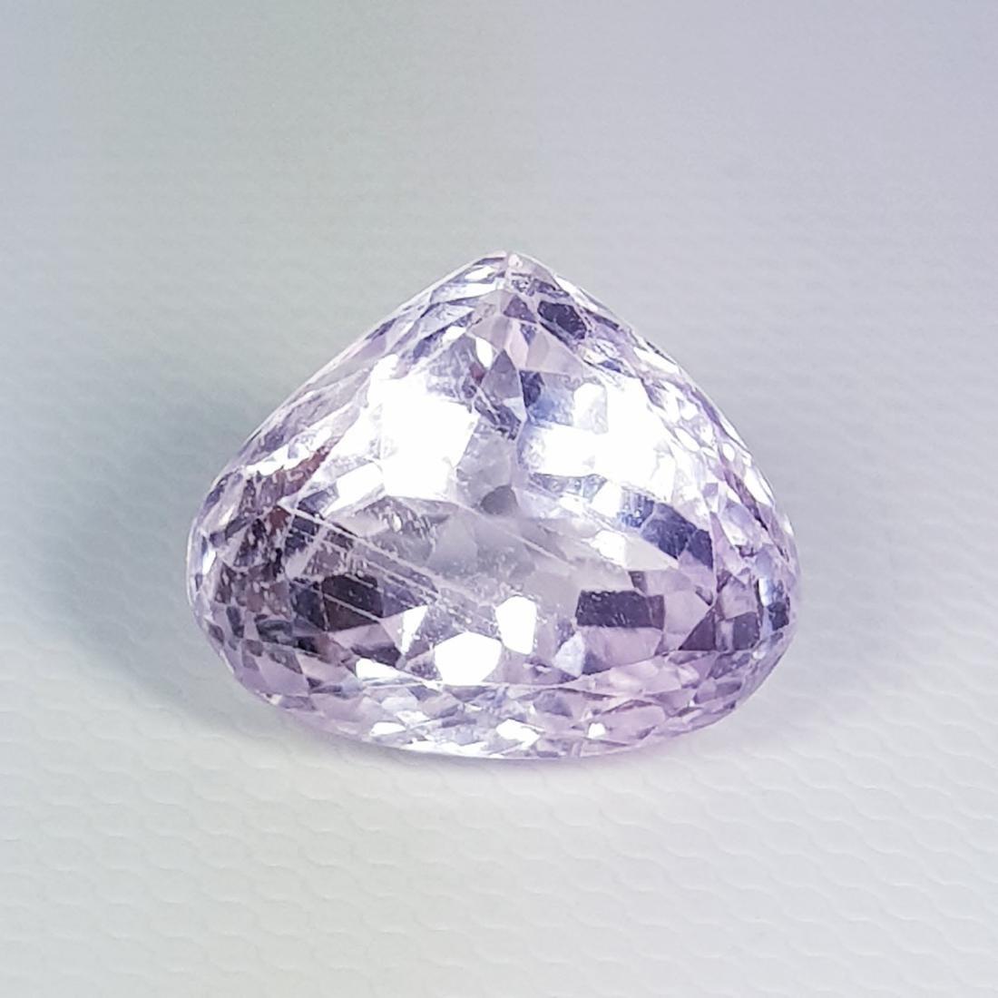 Natural Pink Kunzite Pear Cut 8.30 ct - 3