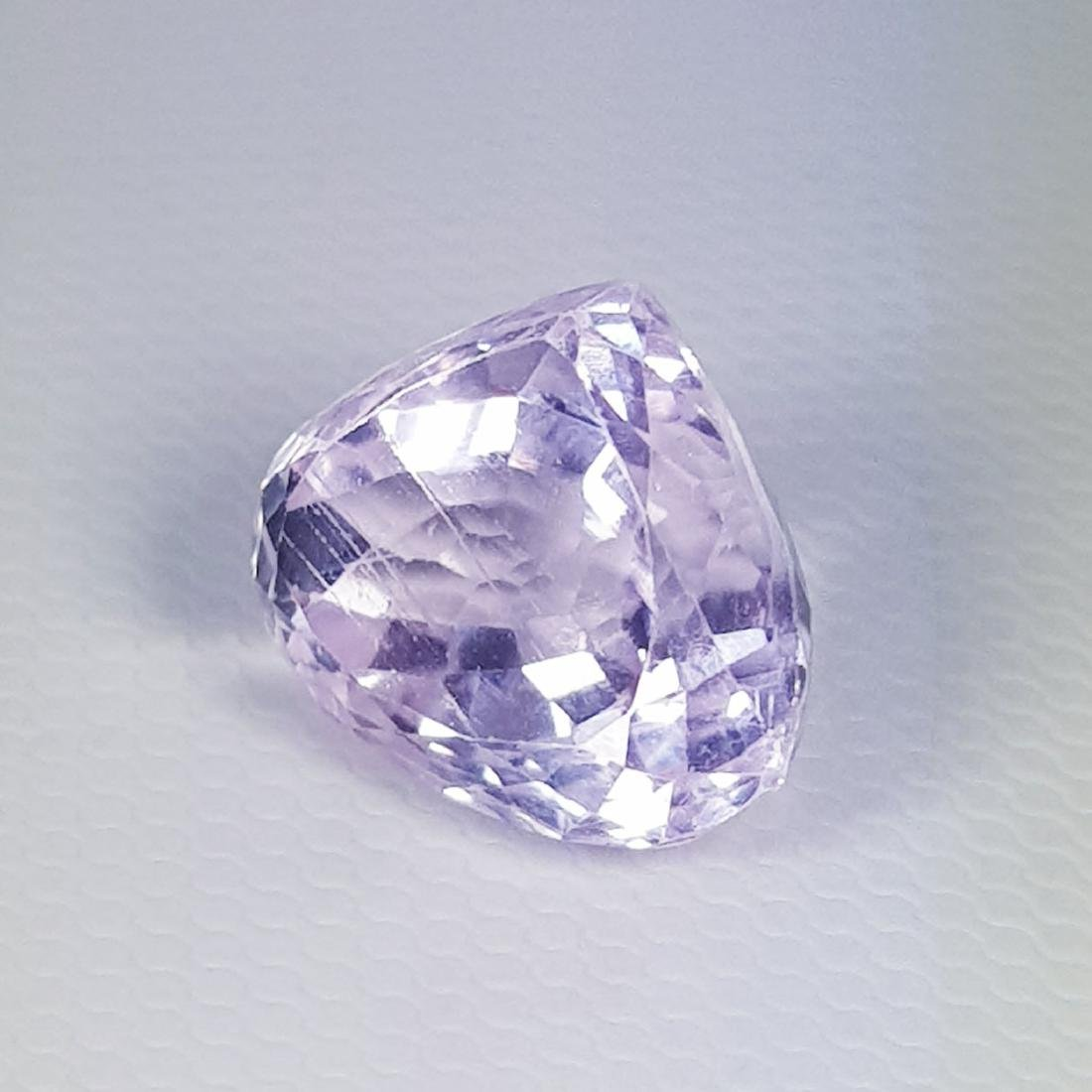 Natural Pink Kunzite Pear Cut 8.30 ct - 4