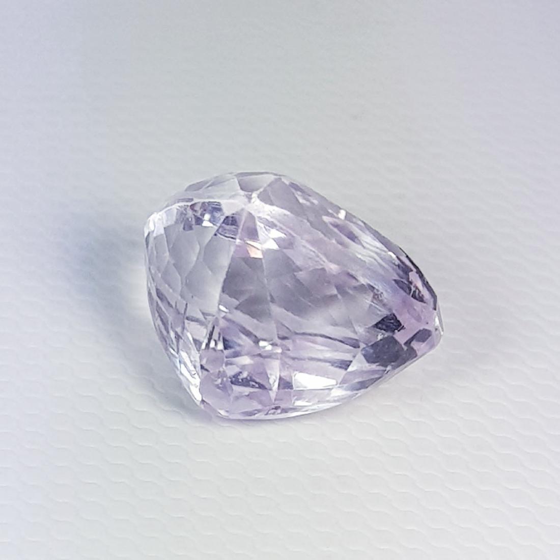Natural Pink Kunzite Pear Cut 8.30 ct - 5