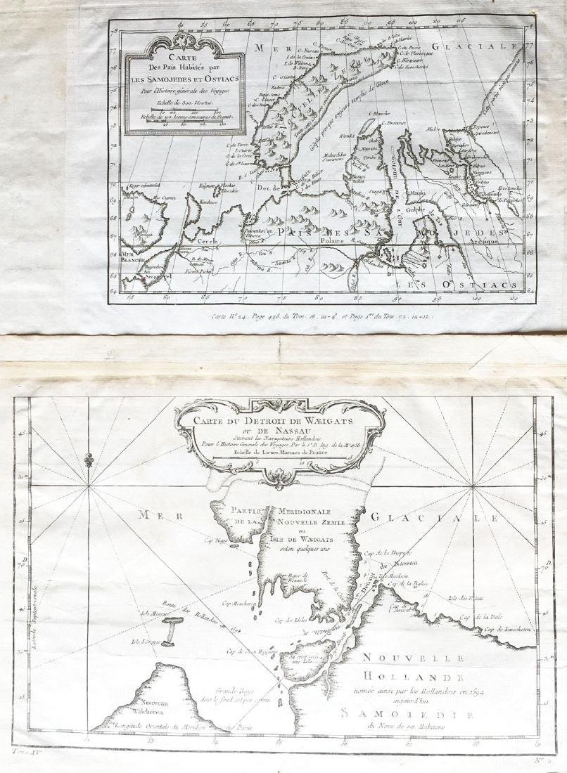 Bellin: Arctic Coasts of European Russia (2 maps)